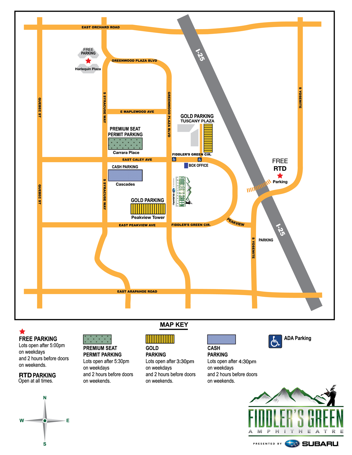 CLICK HERE To Download A Printable Parking Map